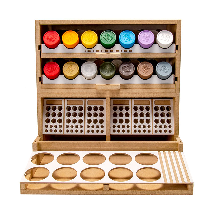 Slide&Tilting Drawer Paint Shelf OPERA-19A (For acrylic, enamel) Thumbnail Image 21