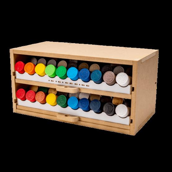 Slide&Tilting Drawer Paint Shelf OPERA-19B (For Lacquer)